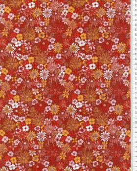 Camilla cotton poplin Pimento - Tissushop