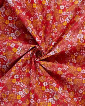 Popeline de coton Camilla Piment - Tissushop