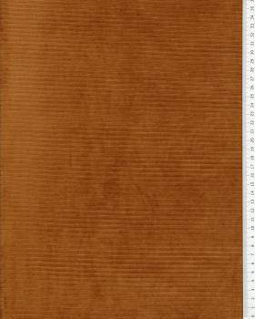 Maille velours côtelé Cuivre - Tissushop