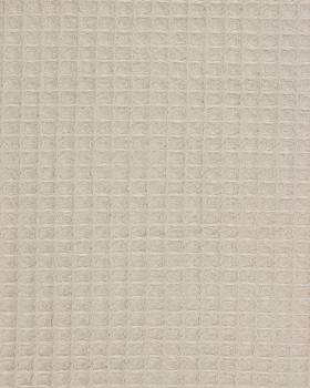 Waffle fabric Beige - Tissushop