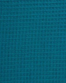 Waffle fabric Dark Cyan - Tissushop