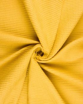 Waffle fabric Mustard - Tissushop