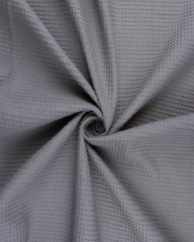Waffle fabric Dark Grey - Tissushop