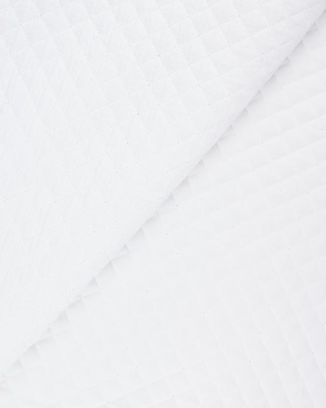 Plain quilted double gauze White - Tissushop