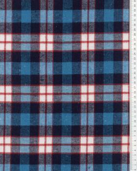 Tartan Flannel Birnam Blue - Tissushop