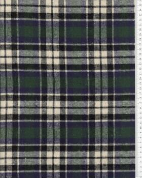 Tartan Flannel Ecossais Green - Tissushop