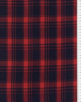 Tartan Flannel Traditional Red - Tissushop