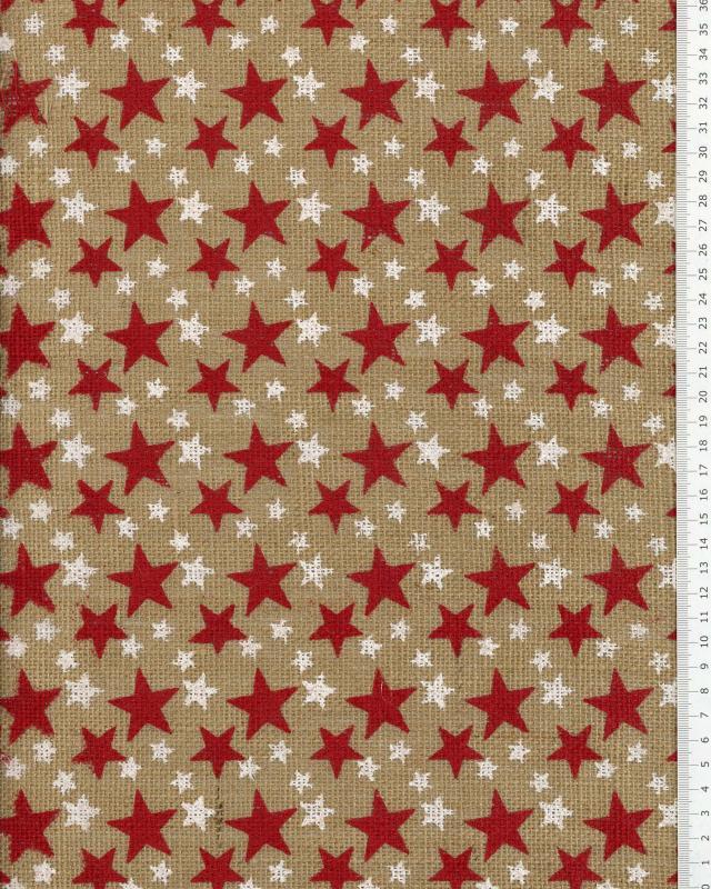 Jupe de Noël de sapin motif étoile - Tissushop
