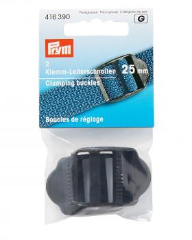 Prym adjustment buckles 25mm Black - Tissushop