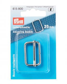 Prym metal slide buckle 25mm Silver - Tissushop