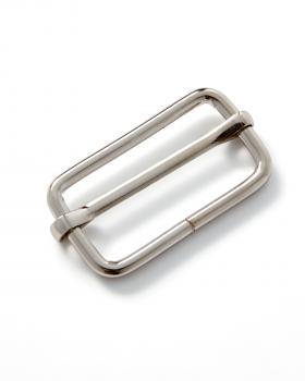 Boucle coulissante métallique 30mm Prym Argent - Tissushop