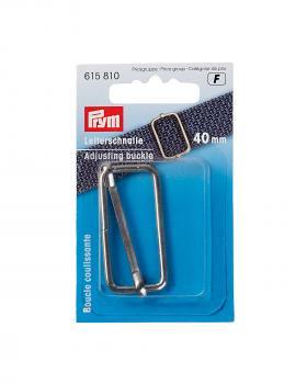 Boucle coulissante métallique 40mm Prym Argent - Tissushop