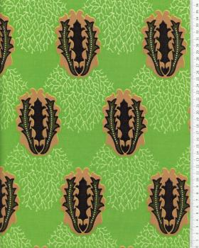 Real Wax - African Fabric Douala Green - Tissushop