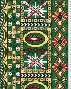 Tissu Polynésien OEA Rouge - Tissushop