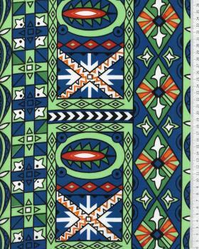 Polynesian Fabric OEA Orange - Tissushop