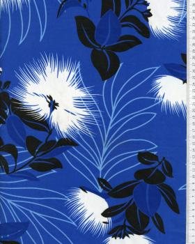 Polynesian Fabric KAEMI Blue - Tissushop