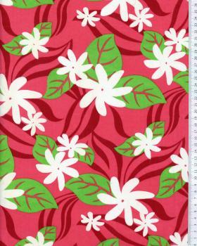 Polynesian Fabric HALOA Pink - Tissushop