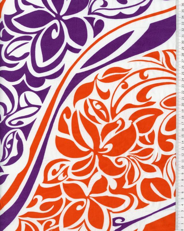 Polynesian Fabric KAIPO Purple - Tissushop
