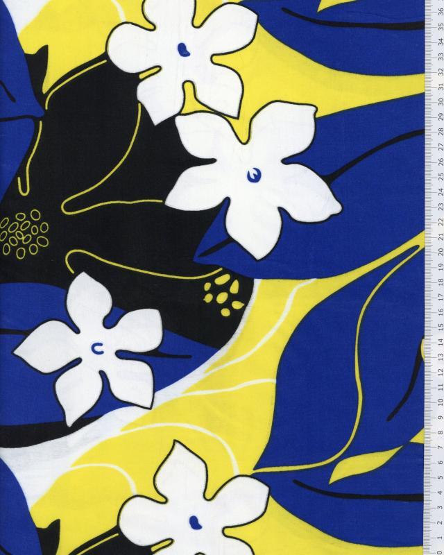 Polynesian Fabric KAHA Yellow - Tissushop