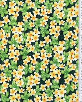 Tissu Polynésien KAEO Vert - Tissushop