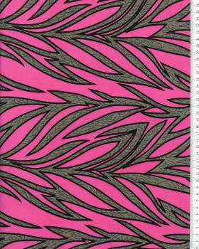 Tissu Polynésien RAITINI Rose - Tissushop