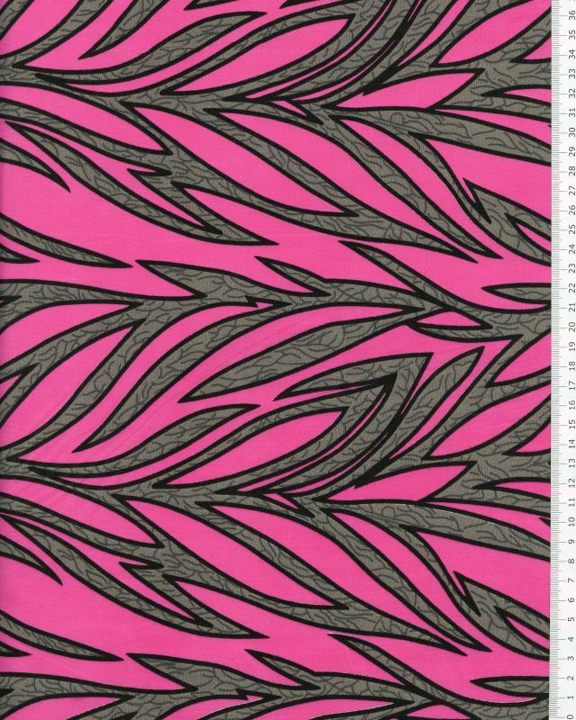 Polynesian Fabric RAITINI Pink - Tissushop