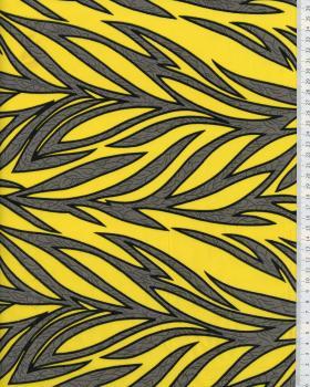 Polynesian Fabric RAITINI Yellow - Tissushop
