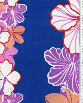 Polynesian Fabric KEONI Blue - Tissushop