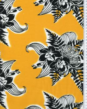 Polynesian Fabric ENOA Yellow - Tissushop