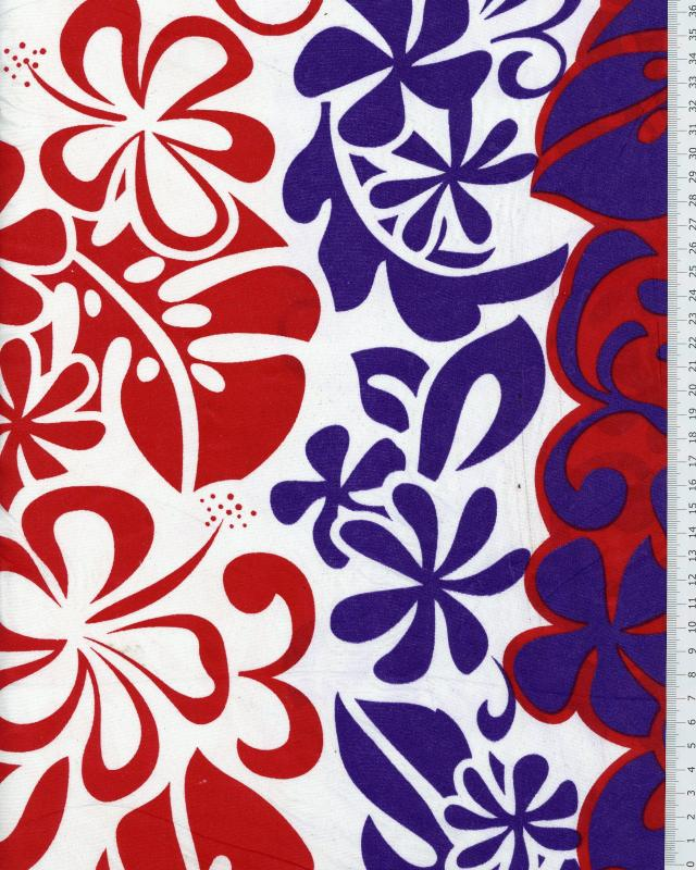 Polynesian Fabric EIMEO Purple - Tissushop
