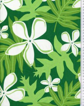 Polynesian Fabric HAMATA Green - Tissushop
