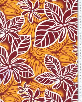 Polynesian Fabric NAEOLE Brown - Tissushop