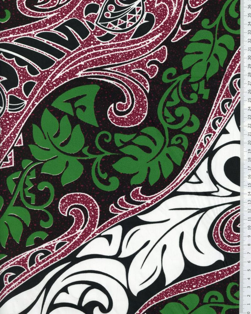 Polynesian Fabric VAIRANI Purple - Tissushop