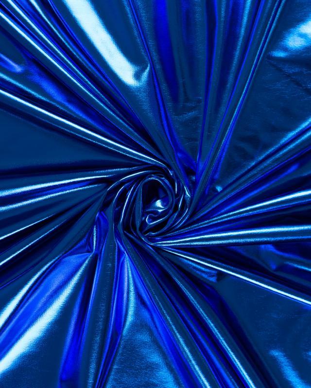 Lycra Foiled Blue Lagon - Tissushop