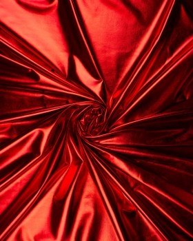 Lycra Foiled Red - Tissushop