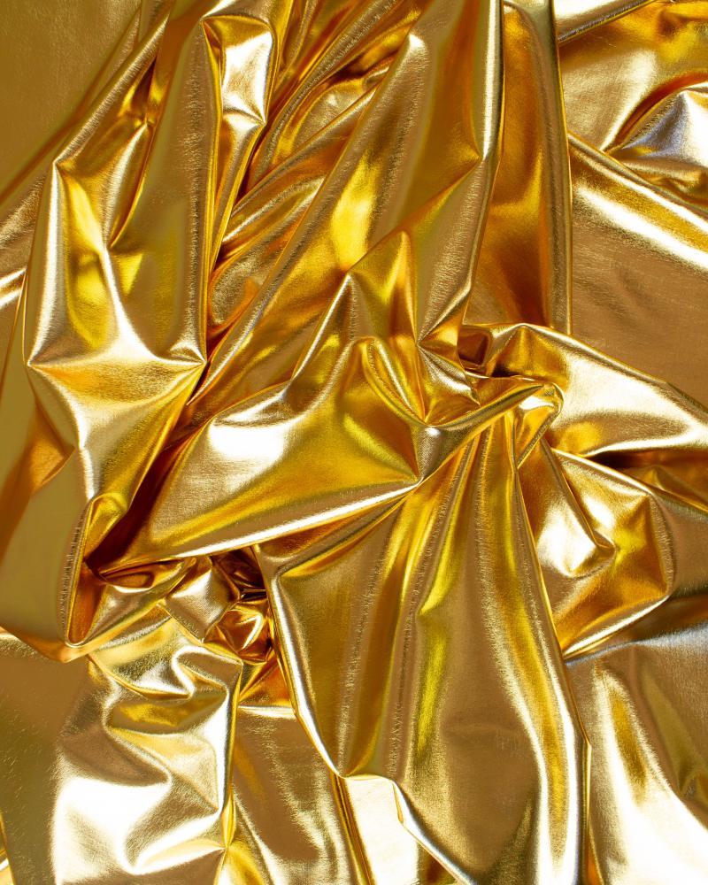 Lycra Foiled Gold - Tissushop