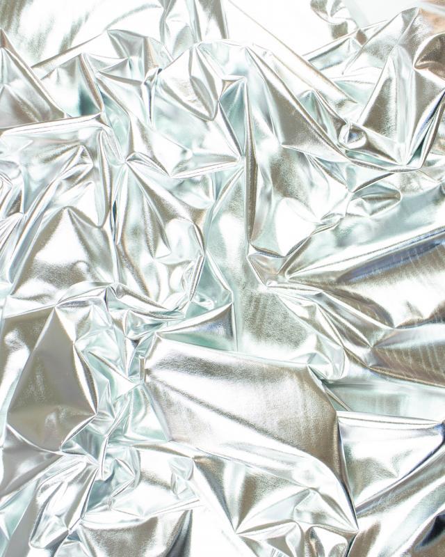 Lycra Laser Argent - Tissushop