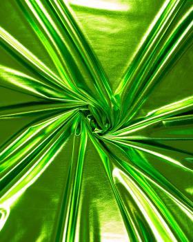 Lycra Laser Vert Spring - Tissushop