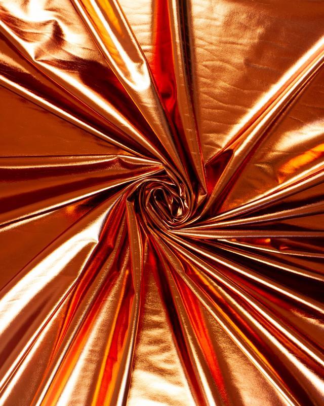 Lycra Foiled Copper - Tissushop