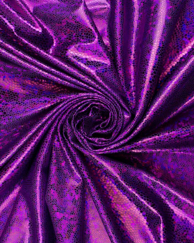 Lycra Imitation Serpent Violet - Tissushop