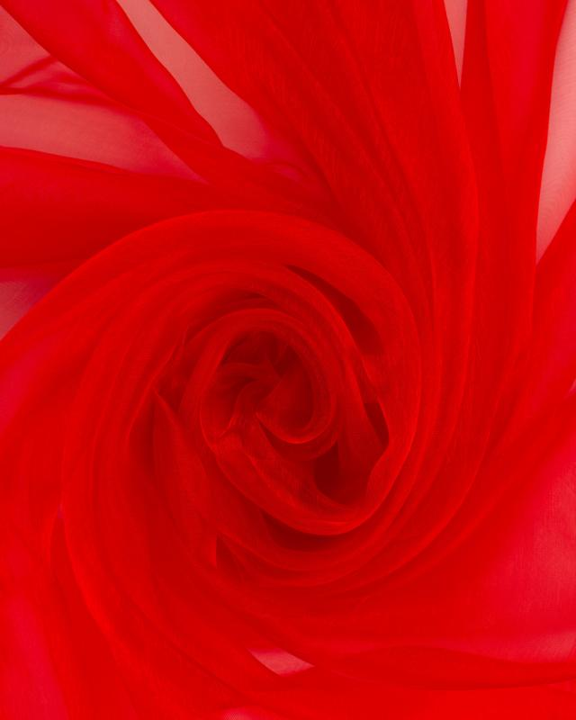 Organza Uni Rouge - Tissushop