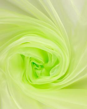 Plain Organza Spring Green - Tissushop