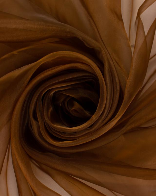 Plain Organza Brown - Tissushop