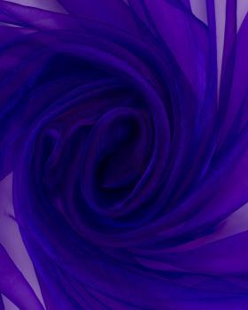Plain Organza Purple - Tissushop