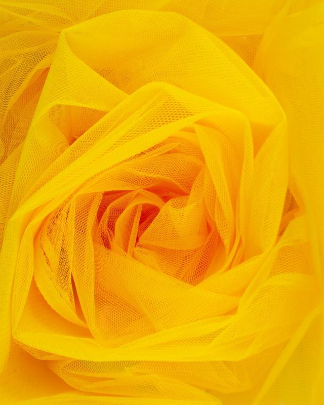 Stiff Mesh Yellow - Tissushop
