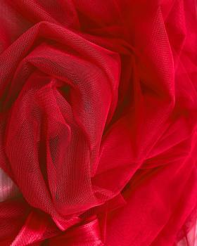 Plain Soft Tulle Red - Tissushop