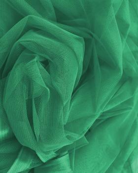 Plain Soft Tulle Dark Green - Tissushop