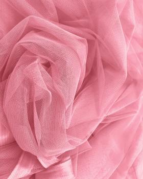 Tulle Souple Uni Rose Bonbon - Tissushop