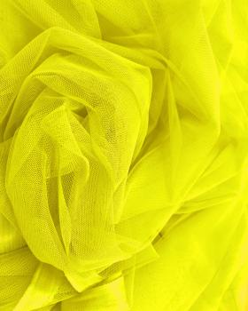 Plain Soft Tulle Yellow - Tissushop