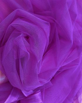 Tulle Souple Uni Violet - Tissushop